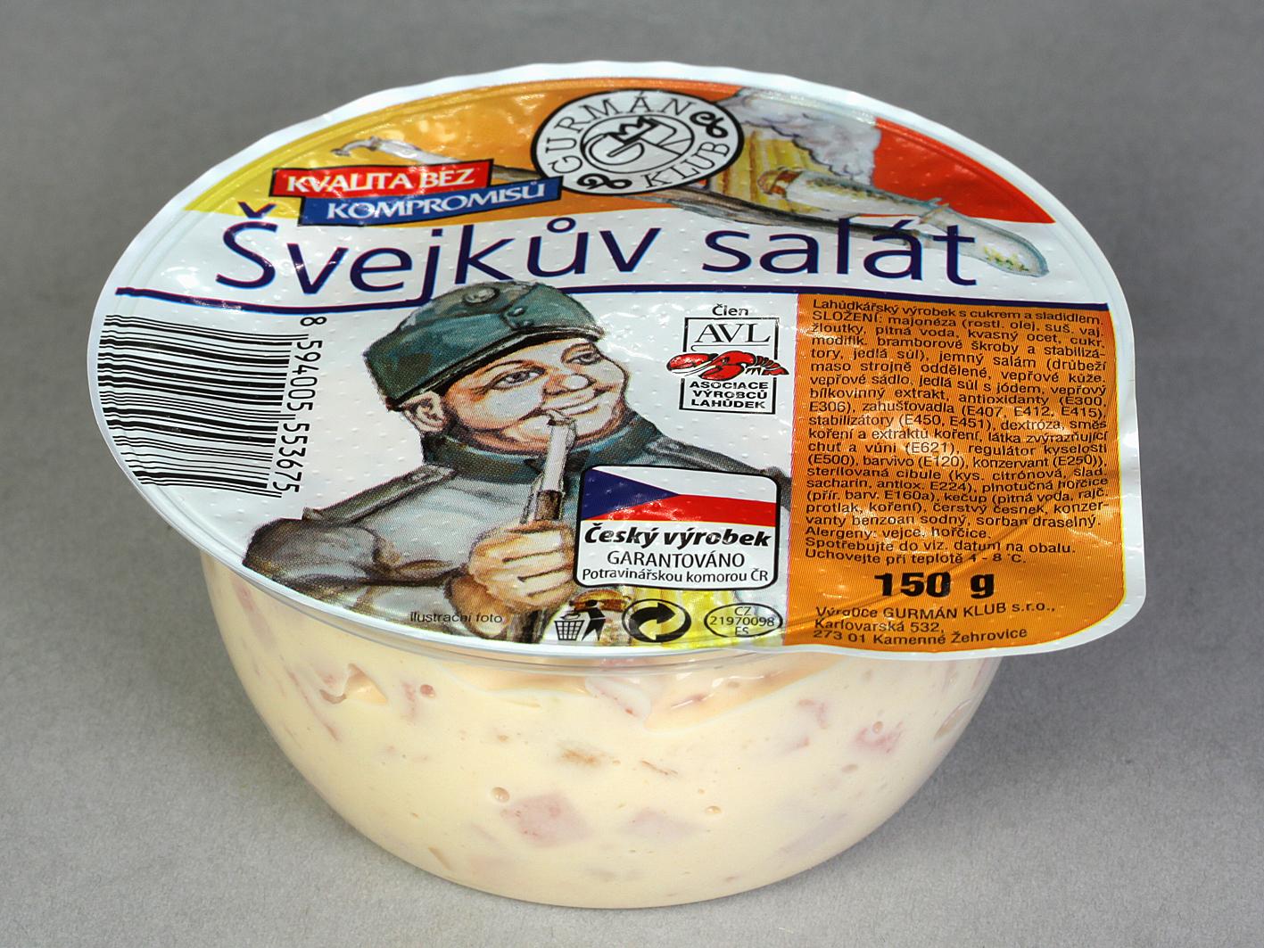Značka Švejkův salát 150g