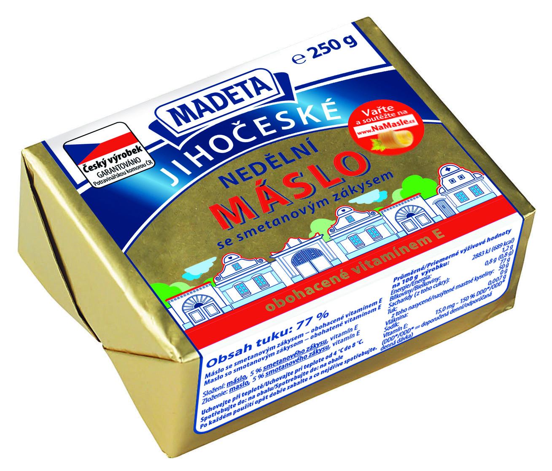 Značka Nedělní máslo