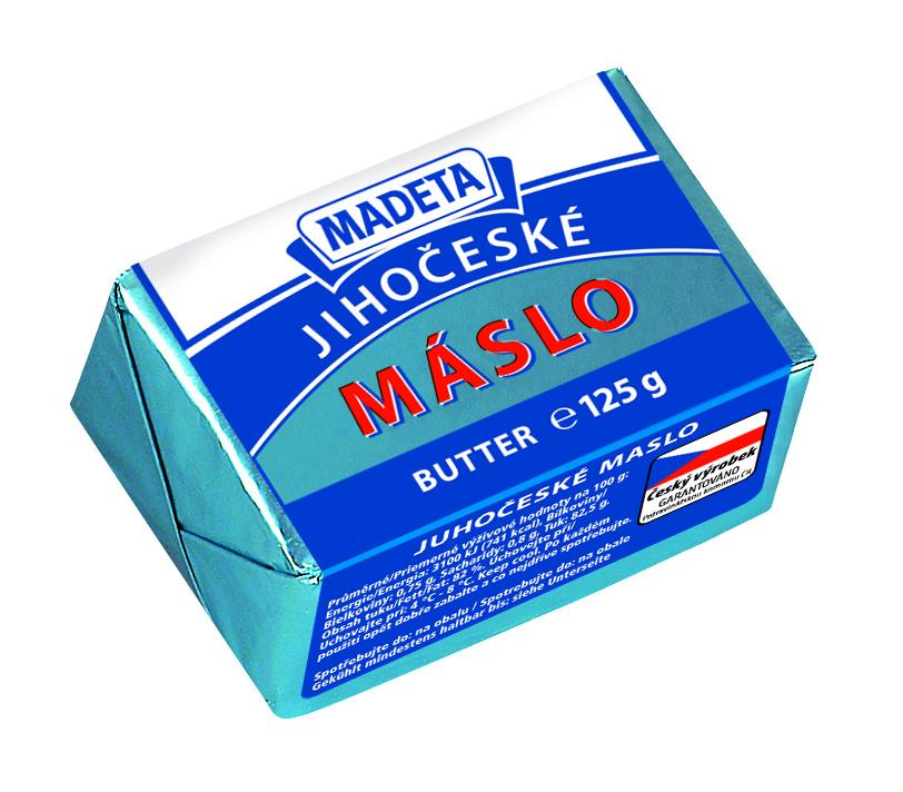 Značka Máslo 125 g