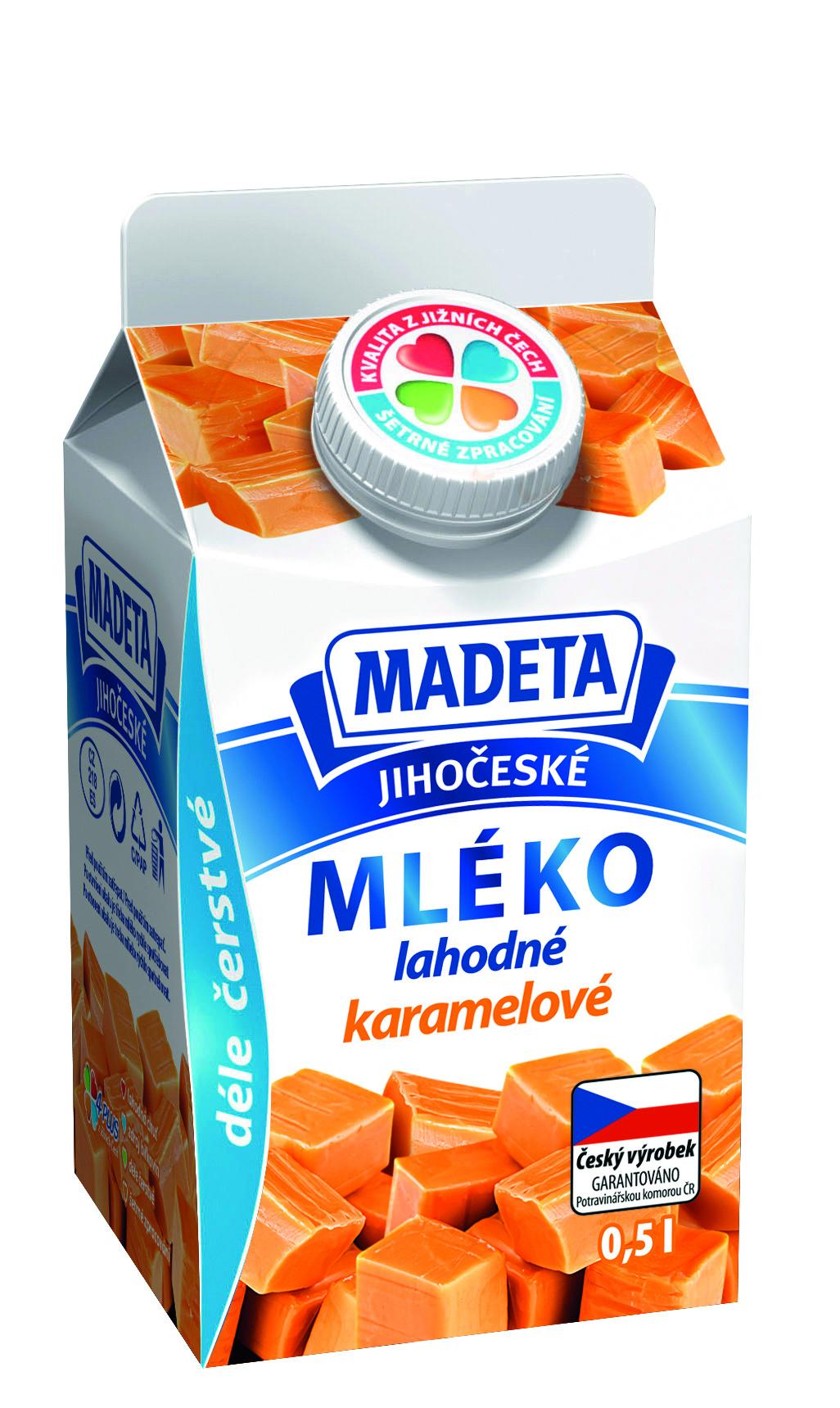 Značka Mléko karamelové