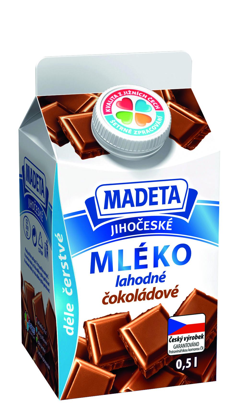 Značka Mléko čokoládové
