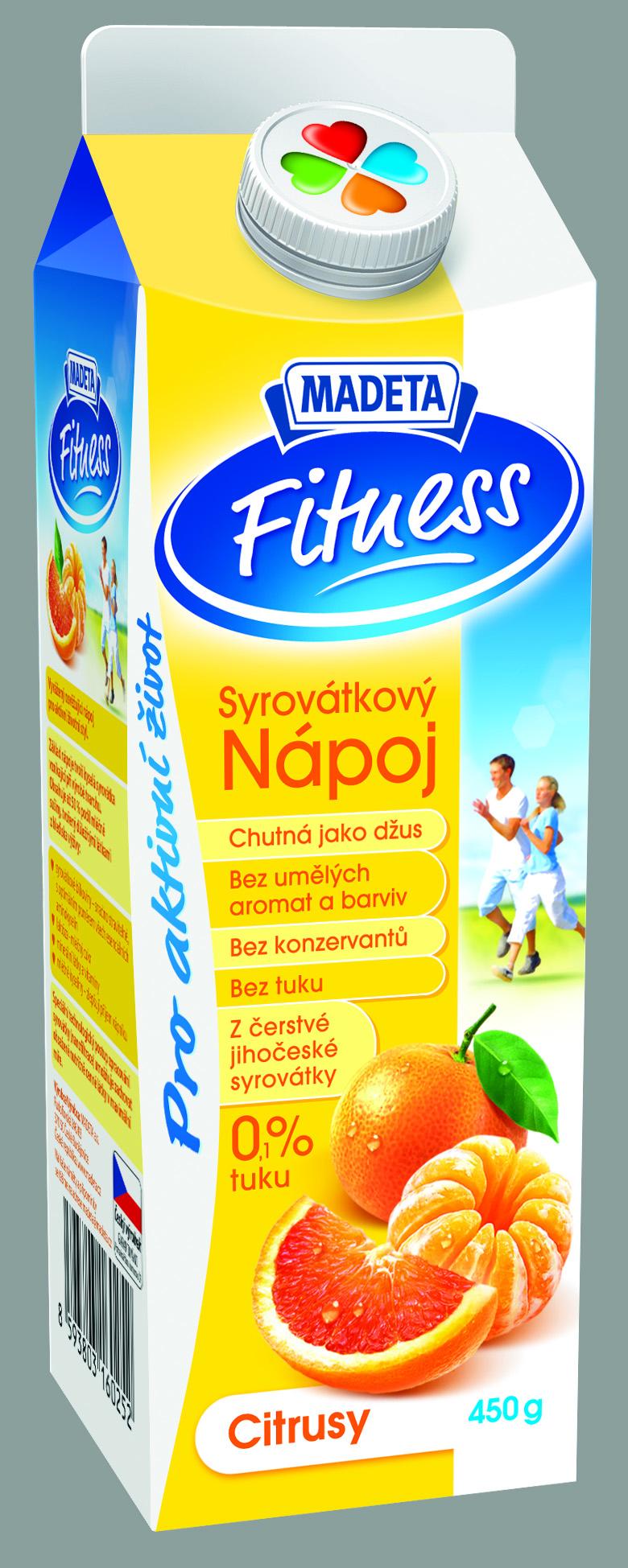 Značka Syrovátkový nápoj citrusy