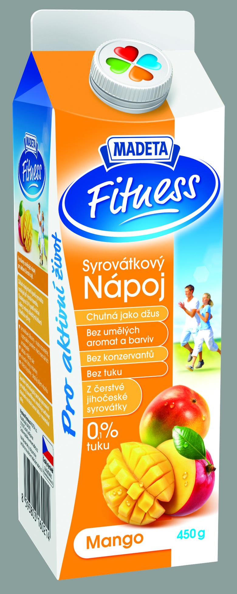 Značka Syrovátkový nápoj mango
