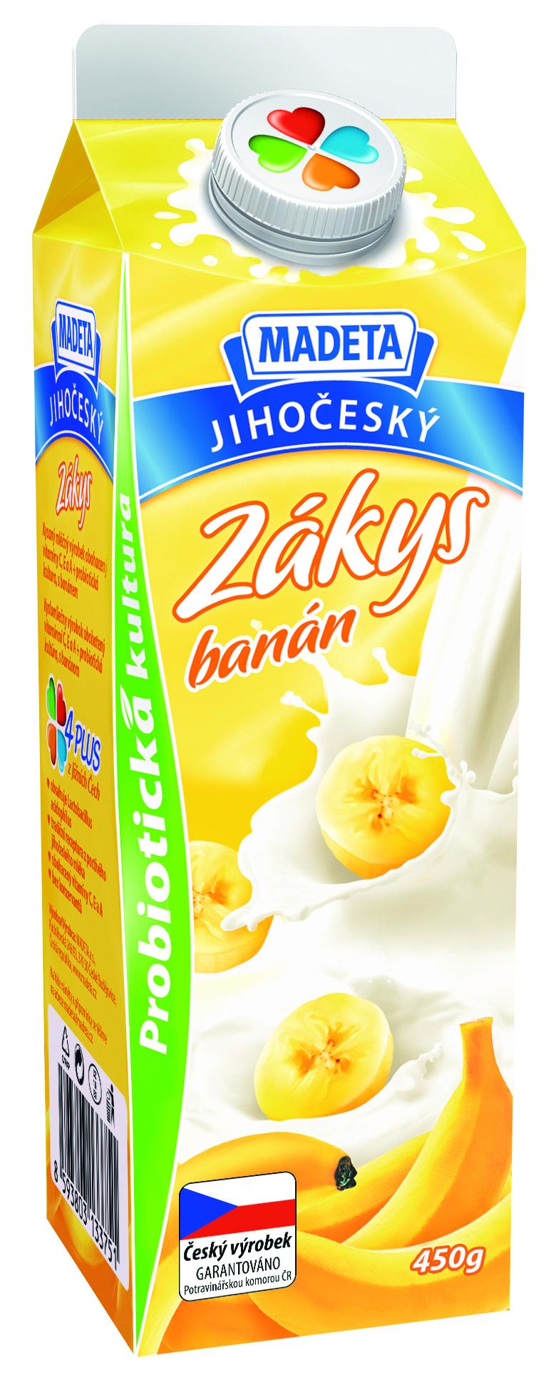 Značka Zákys banán