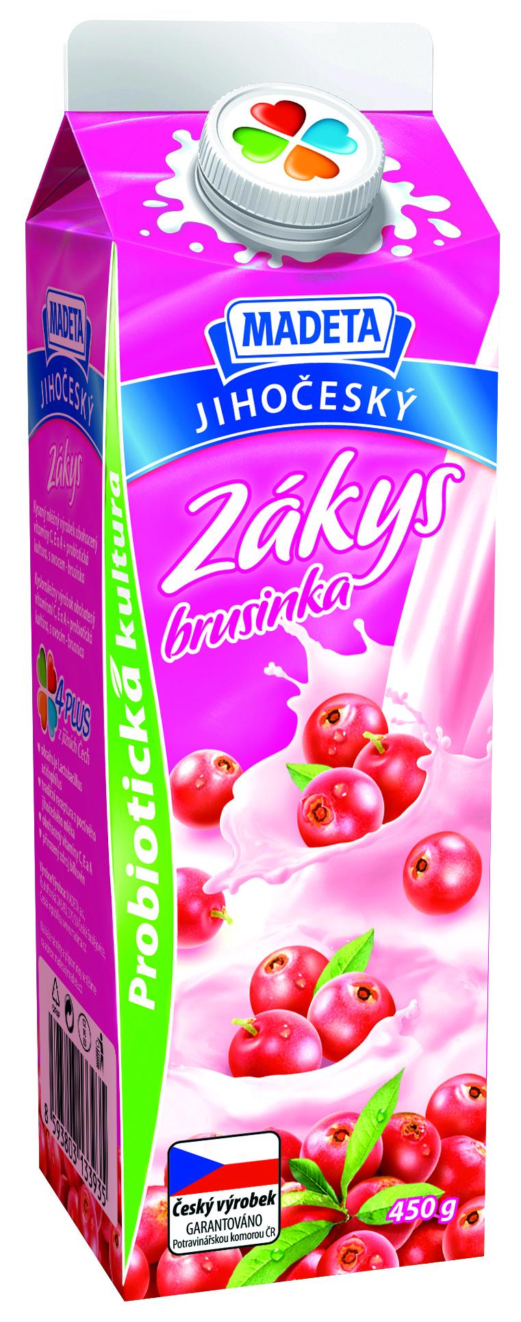Značka Zákys brusinka
