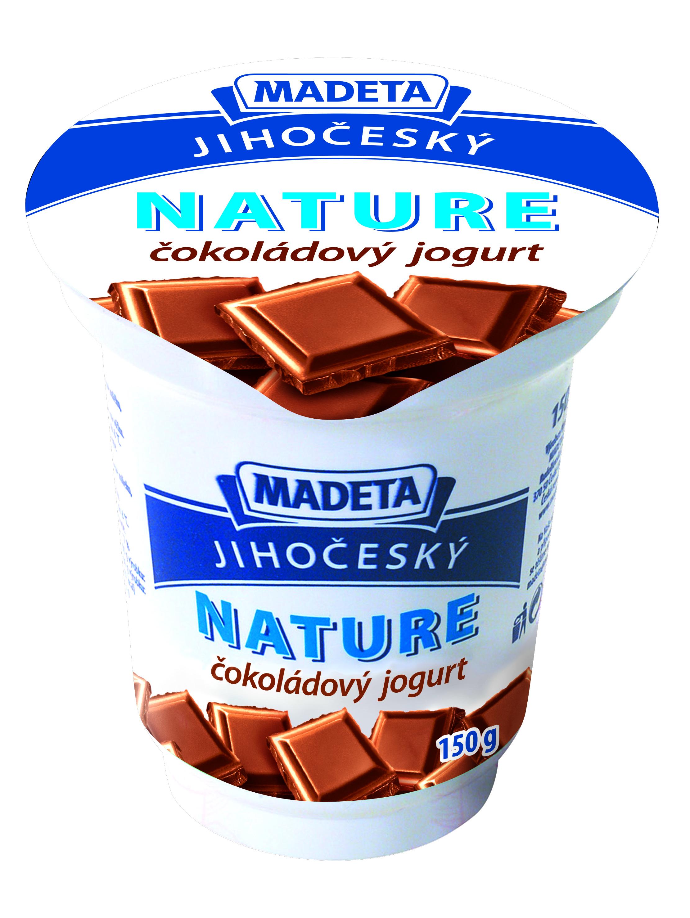 Značka Čokoládový jogurt
