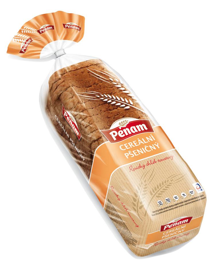 Značka Rosický chléb cereální pšeničný 500 g