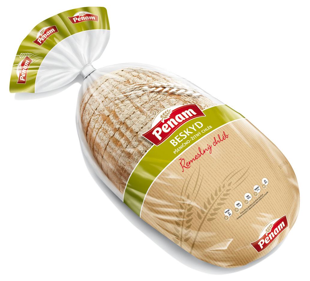Značka Chléb Beskyd 1kg