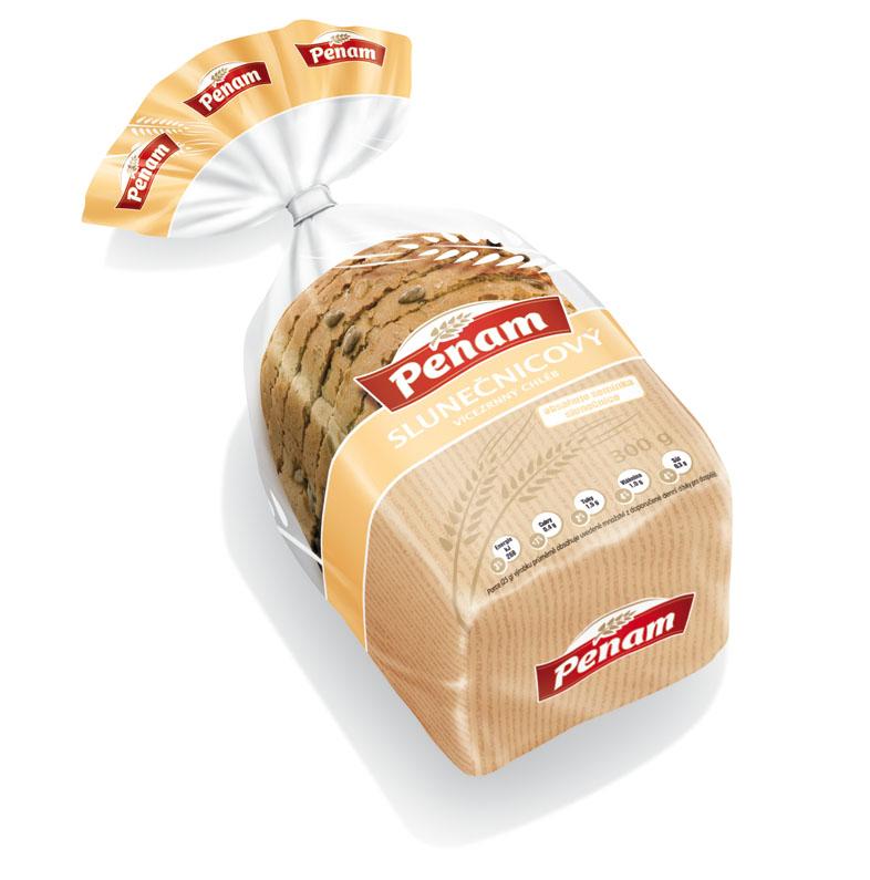 Značka Chléb slunečnicový 300g