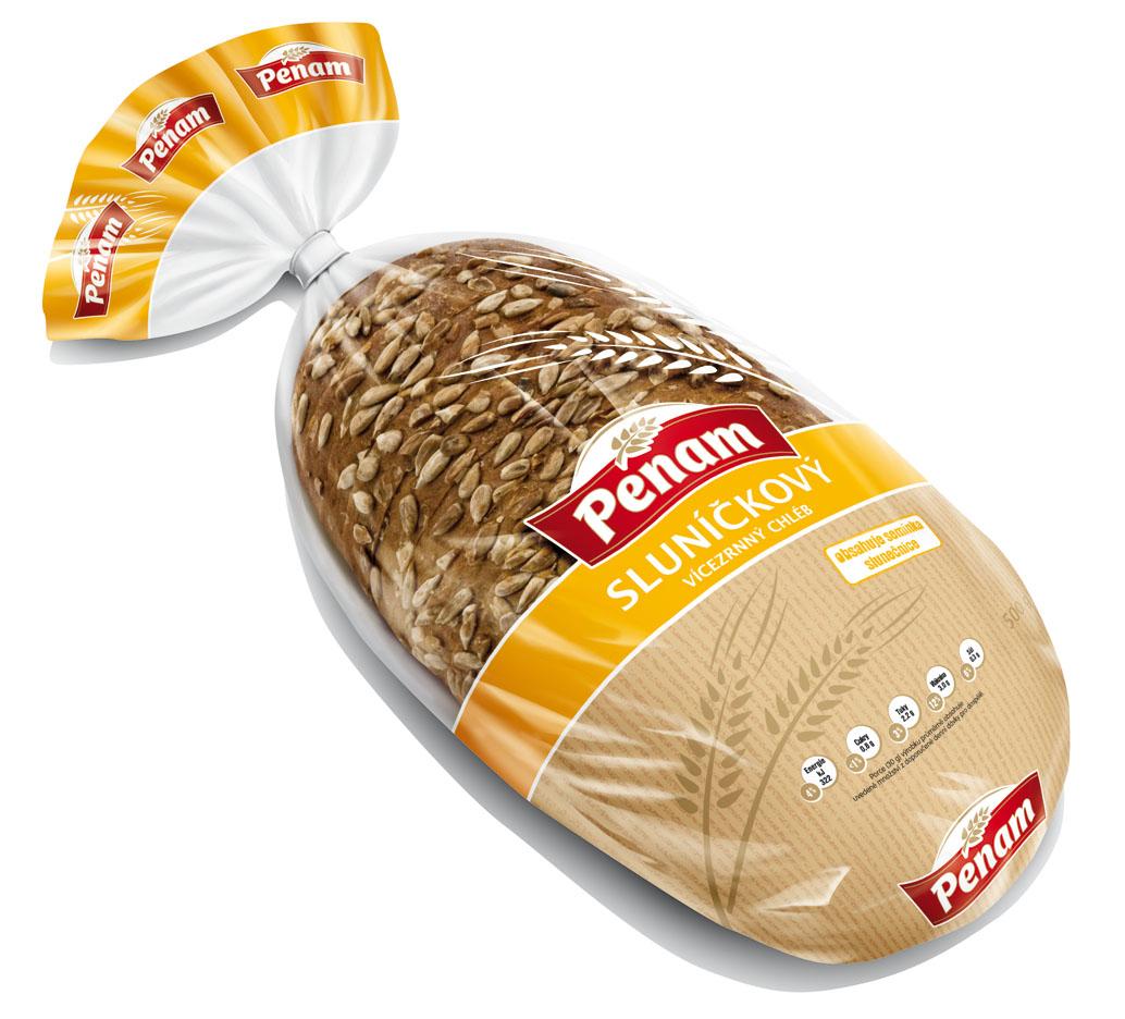 Značka Chléb sluníčkový 500g