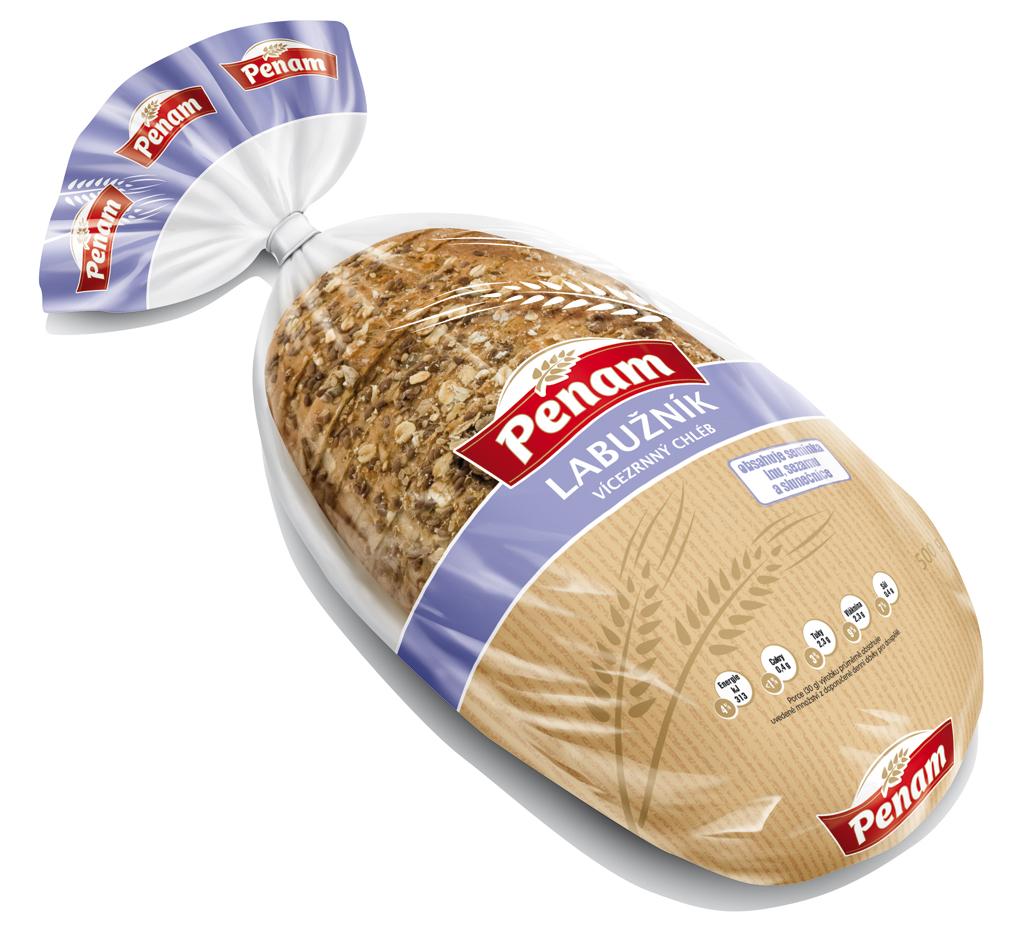 Značka Chléb Labužník 500g