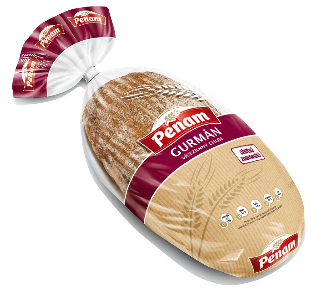 Značka Chléb Gurmán 500g
