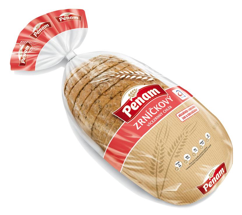 Značka Zrníčkový chléb 500g