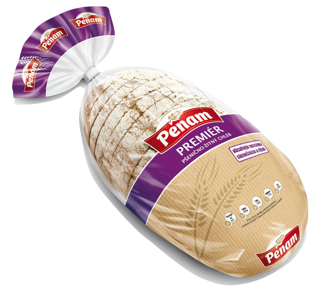 Značka Chléb Premiér 500g