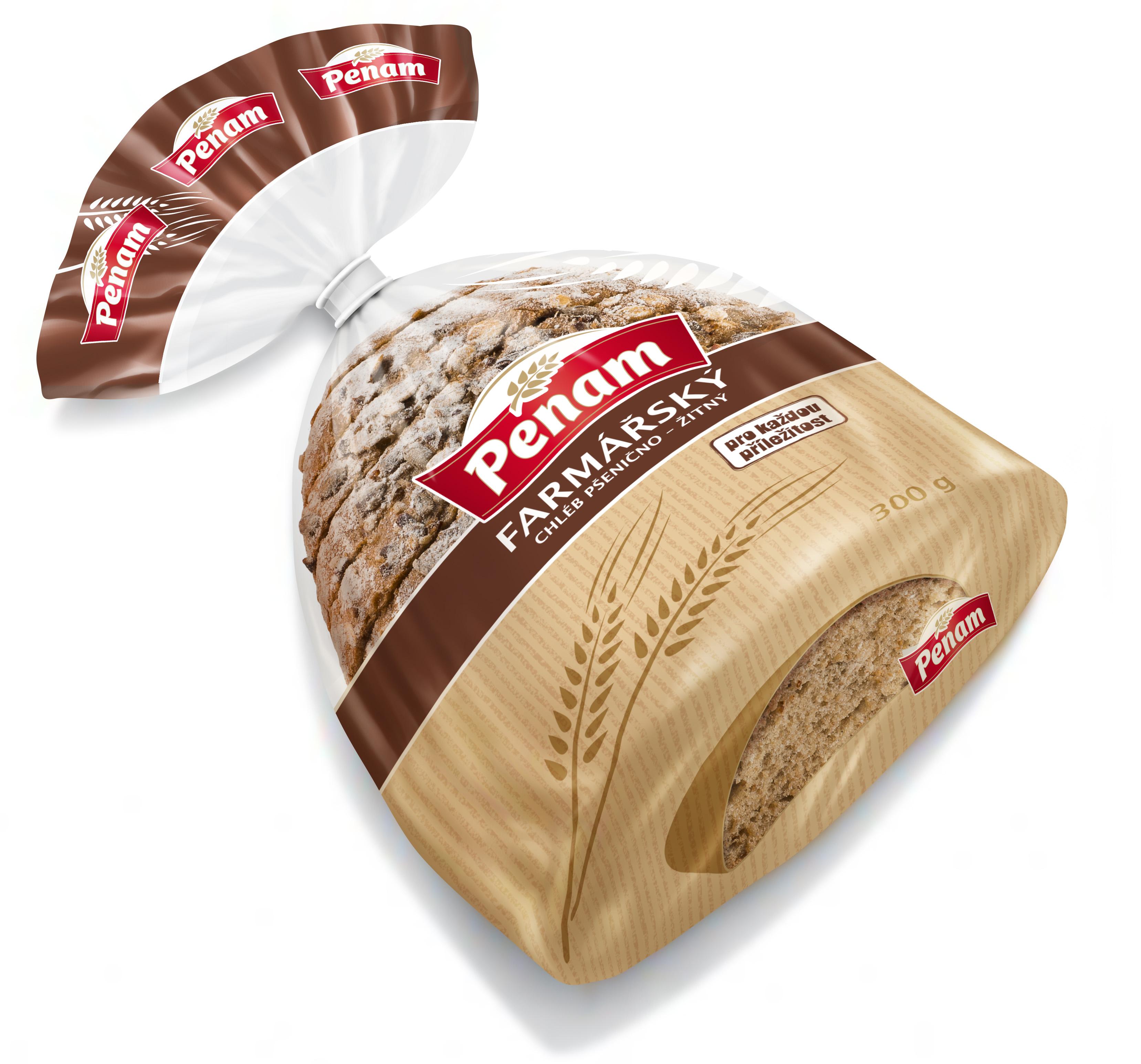 Značka 32987 Chléb farmářský 300 BK