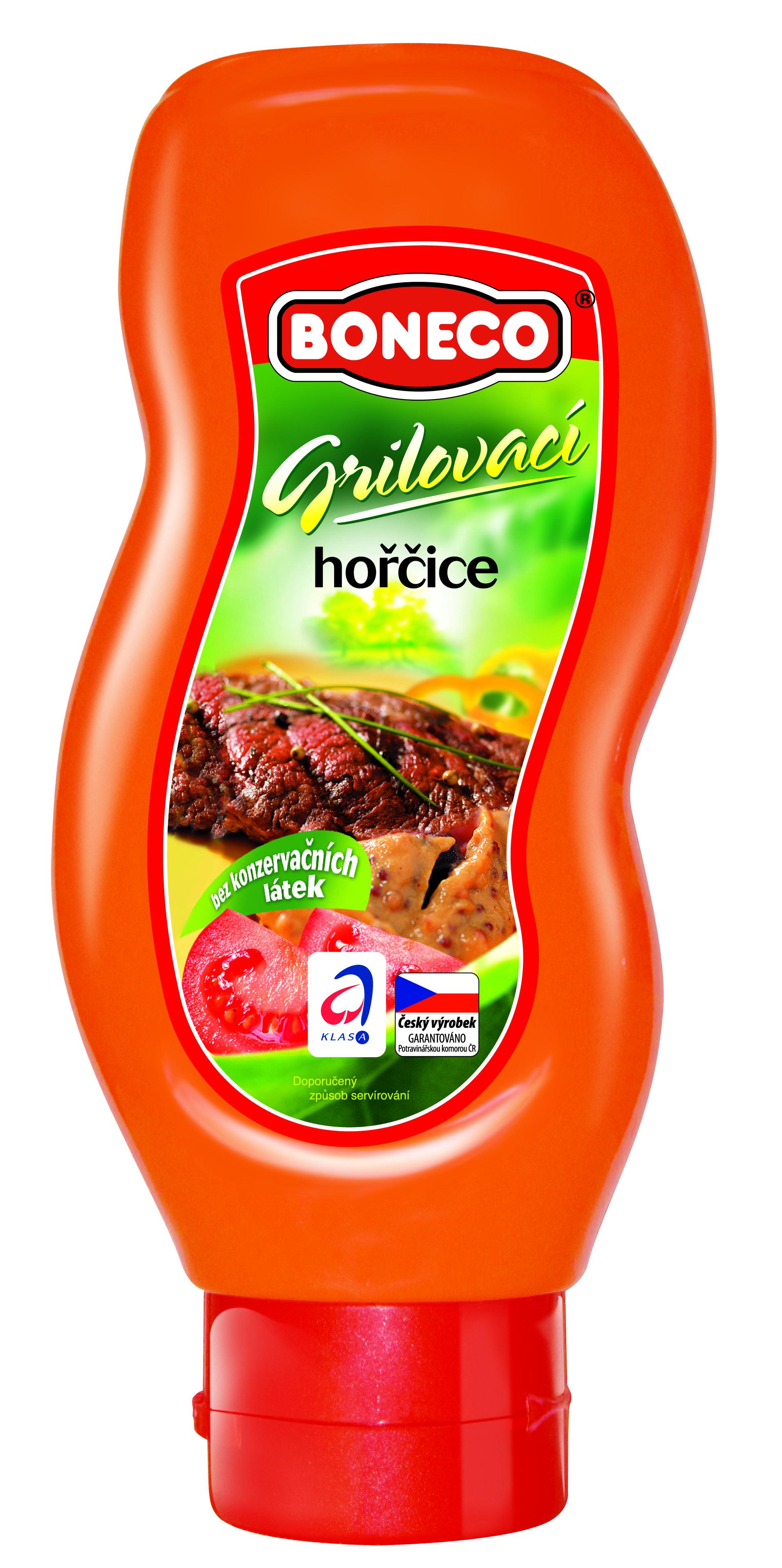 Značka Hořčice grilovací