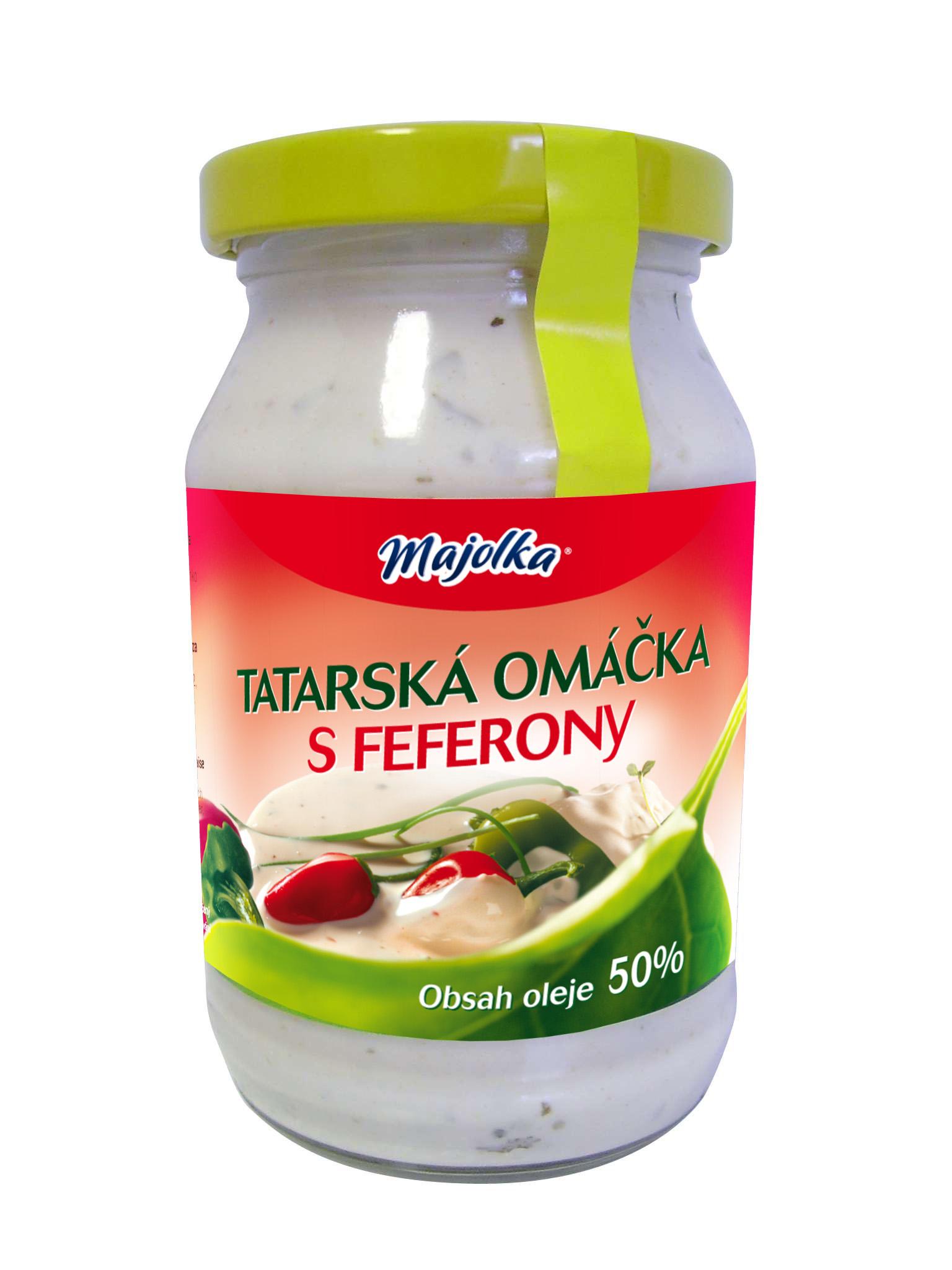 Značka Tatarská omáčka s feferony 250ml