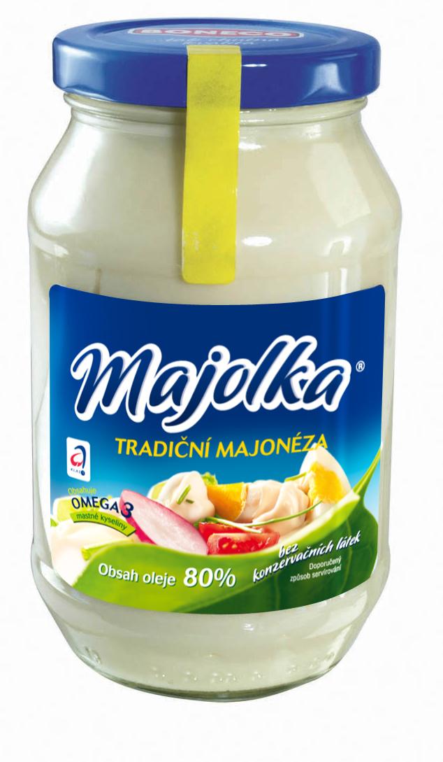Značka Majolka tradiční majonéza
