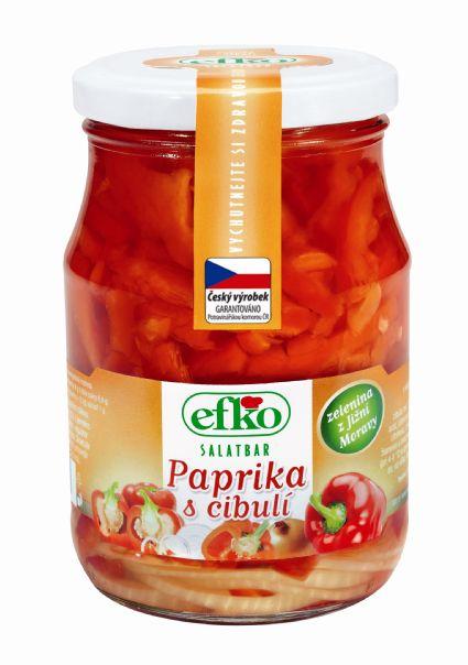 Značka Paprika s cibulí