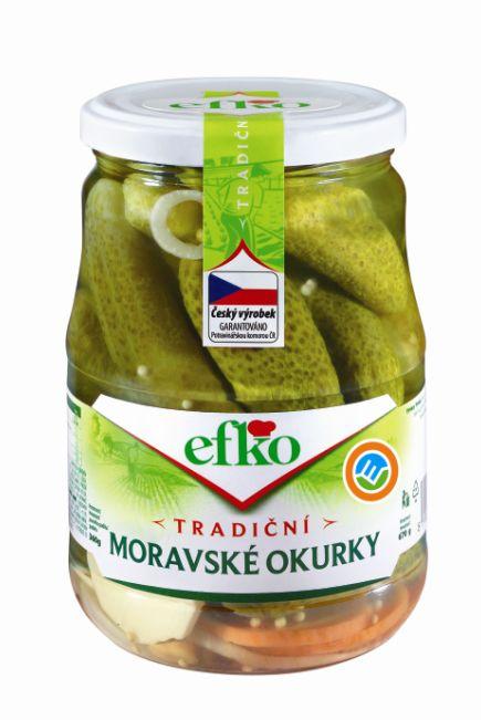 Značka Tradiční Moravské okurky