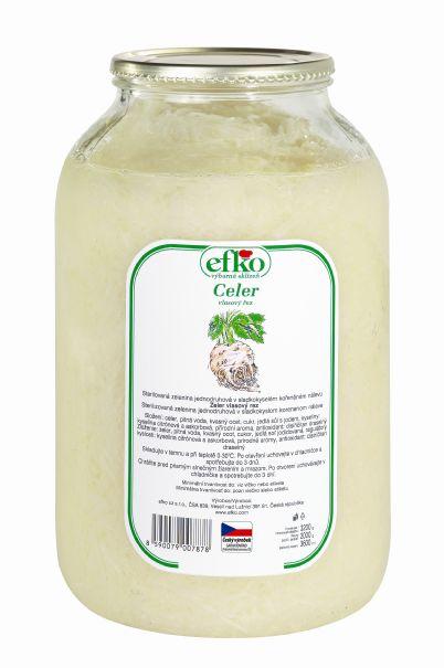 Značka Celer vlasový řez
