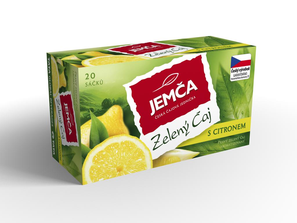 Značka zelený čaj – citron