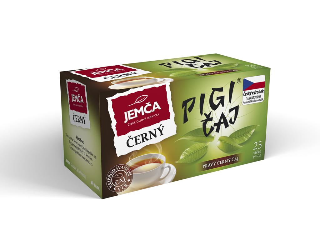 Značka pigi čaj černý