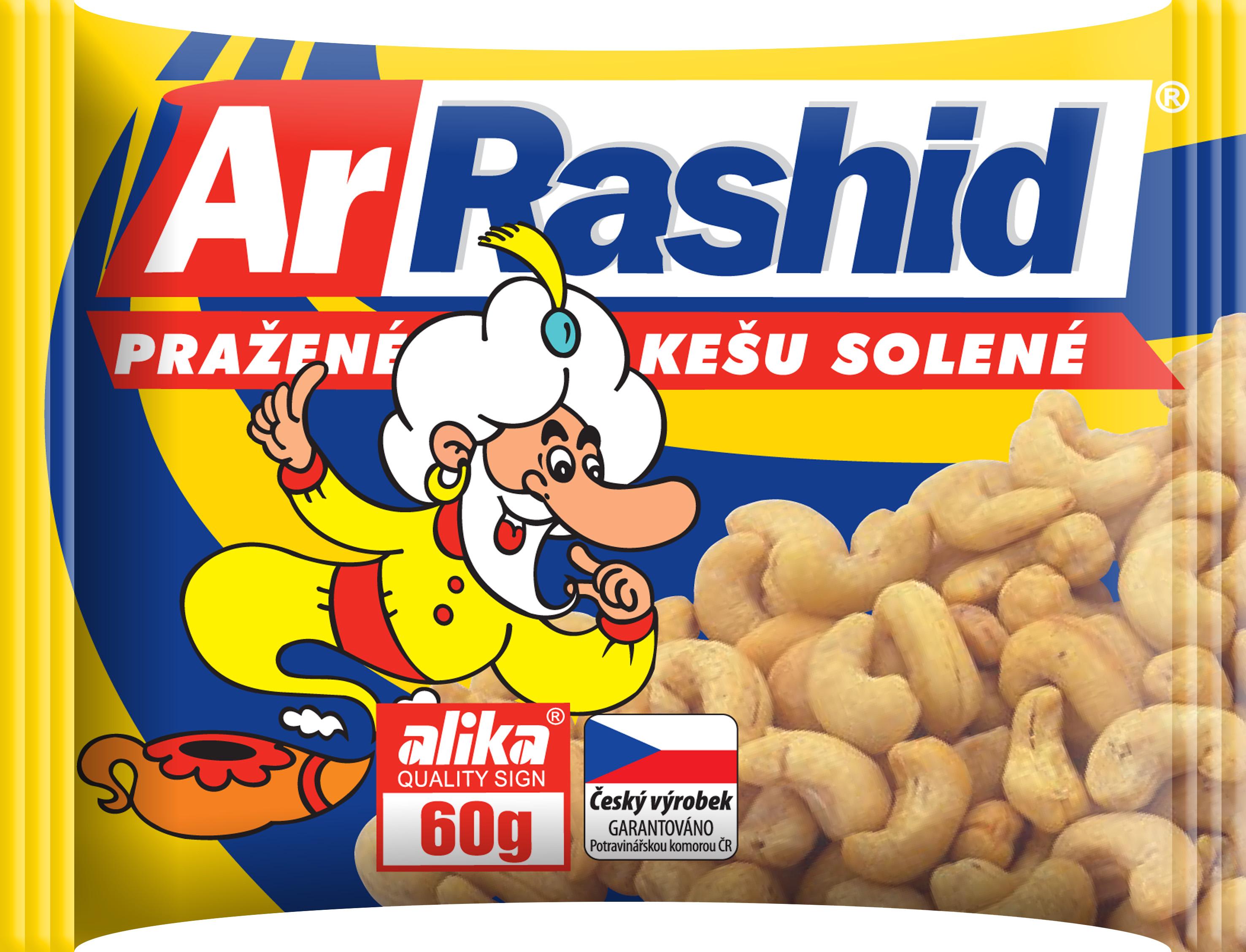 Značka ArRashid kešu solené