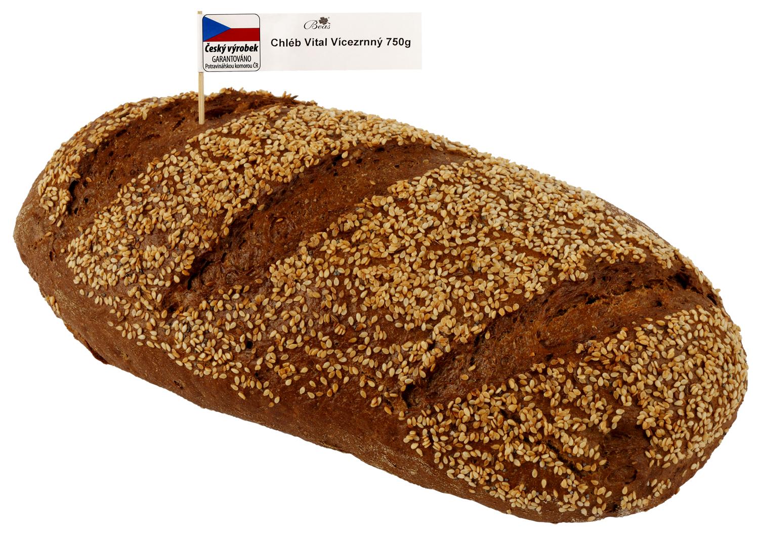 Značka Beas Chléb Vital vícezrnný