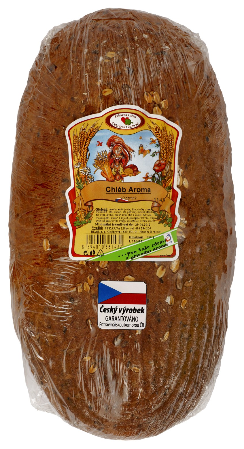 Značka Beas chléb Aroma