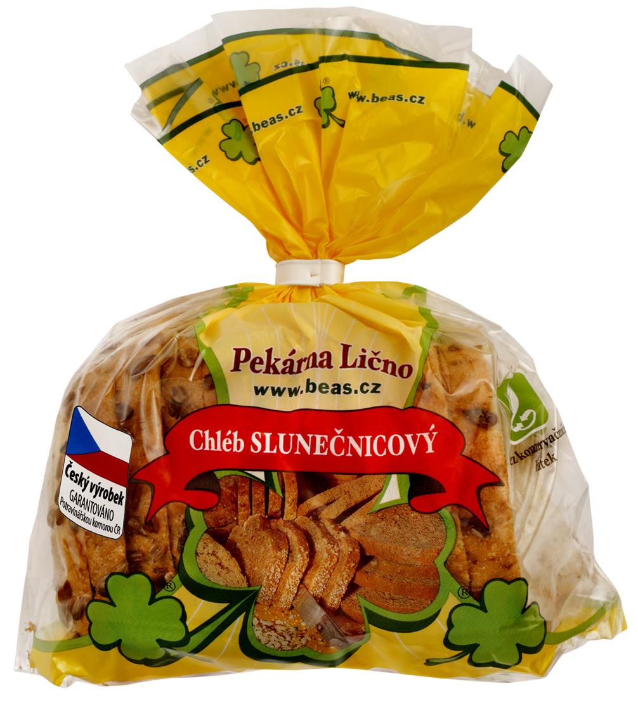 Značka Beas chléb Slunečnice