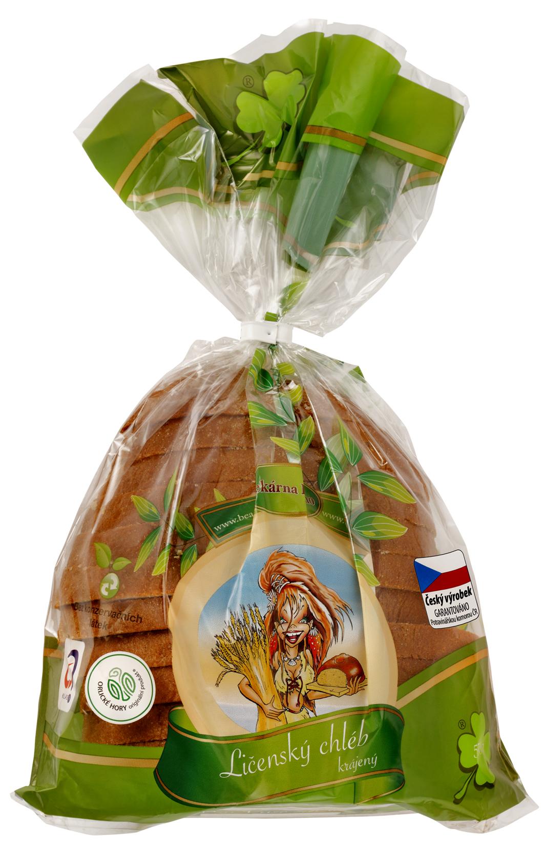 Značka Beas chléb krájený půl