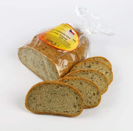 Značka Chléb KK vícezrný krájený