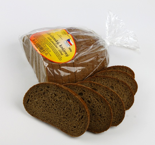 Značka Chléb sítenský,krájený