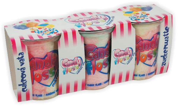 Značka Cukr. vata 20g 3pack