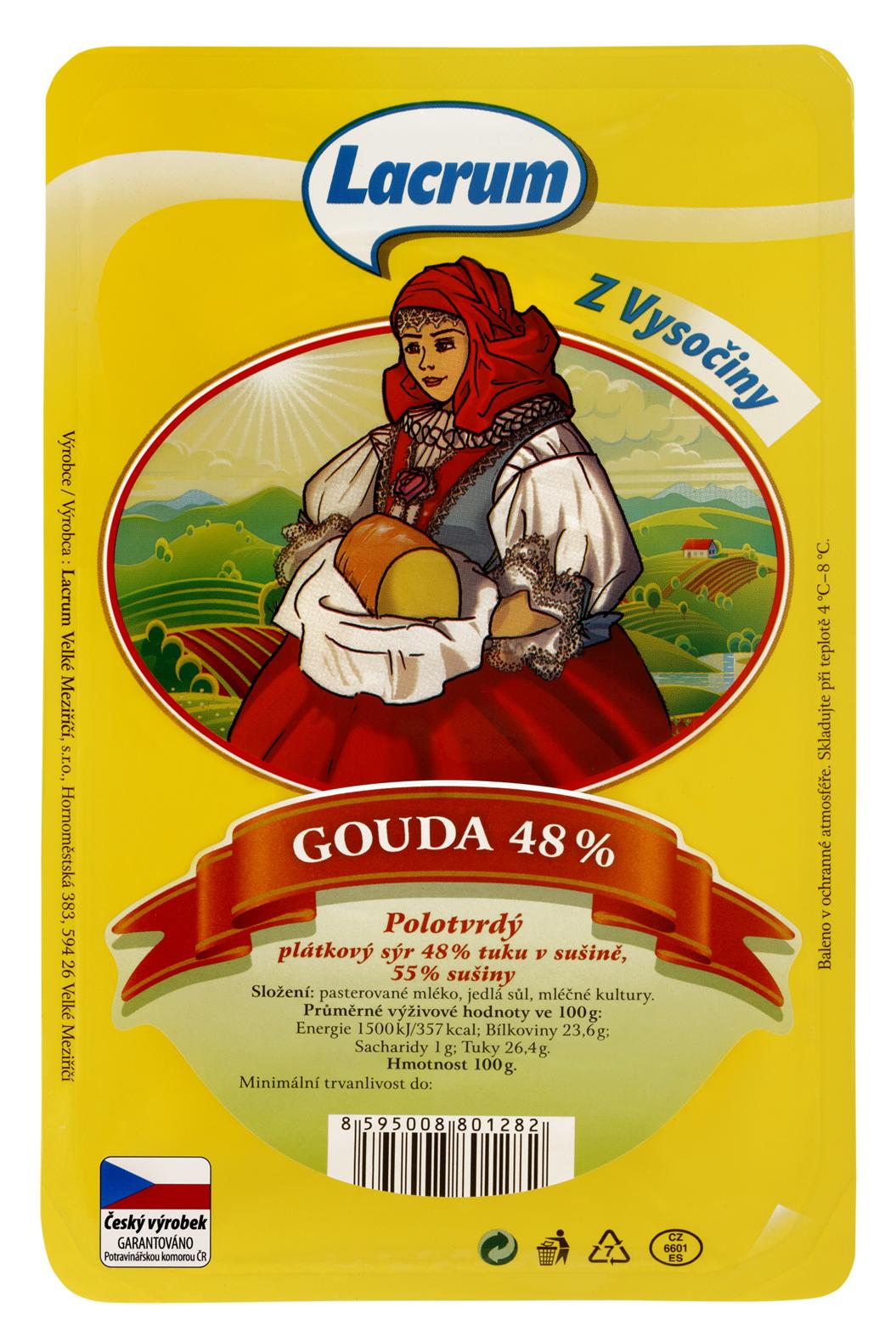 Značka Gouda 48 %