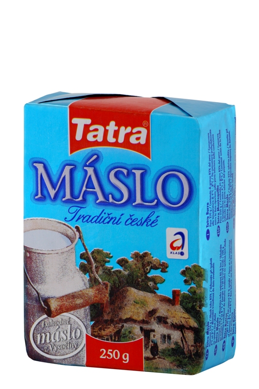Značka Máslo 250g
