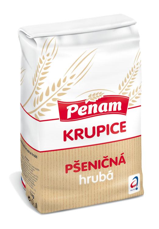 Značka Pšeničná krupice hrubá 1 kg