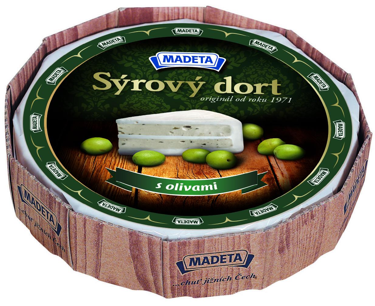 Značka Sýrový dort s olivami
