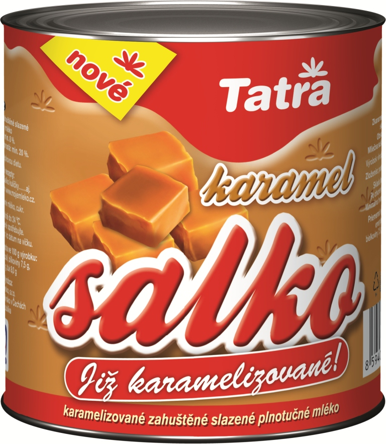 Značka Salko karamel