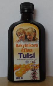 Značka Sevak star – Rakytníková šťáva Tulsí