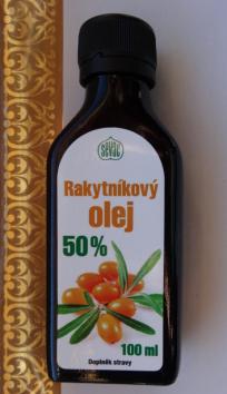 Značka Sevak star – Rakytníkový olej