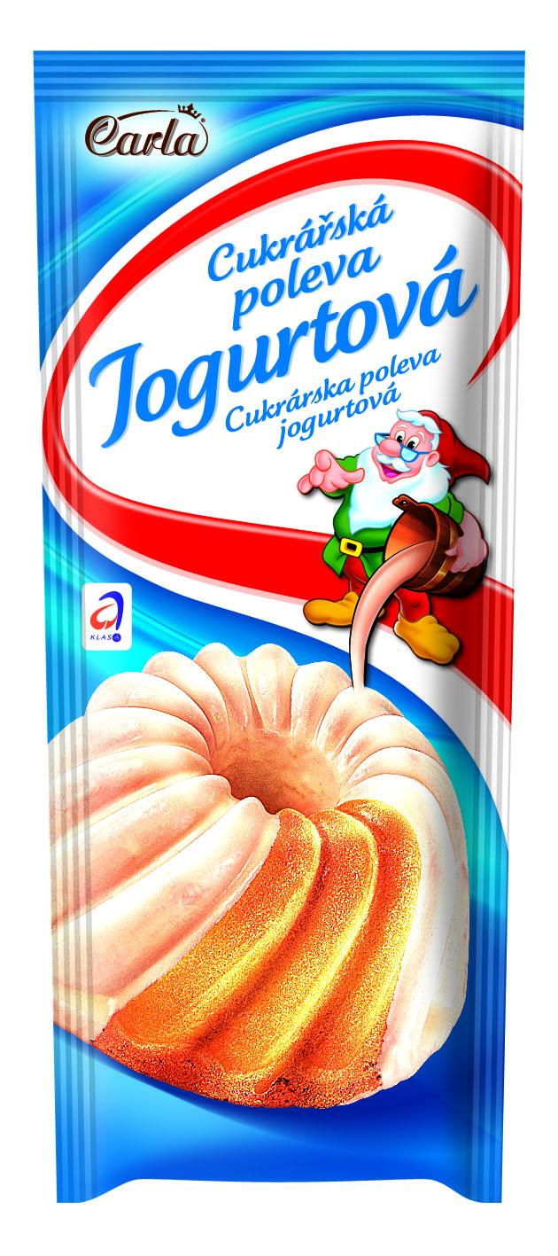 Značka Cukrářská poleva jogurtová