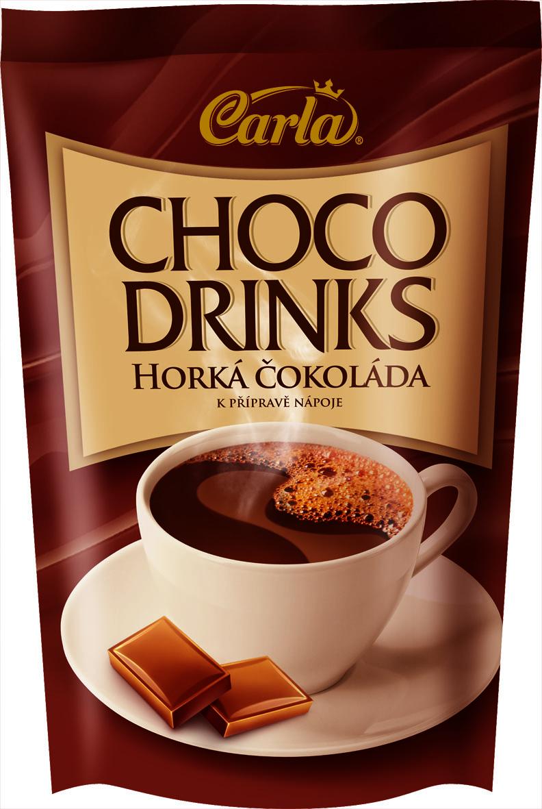 Značka Choco drinks horká čokoláda