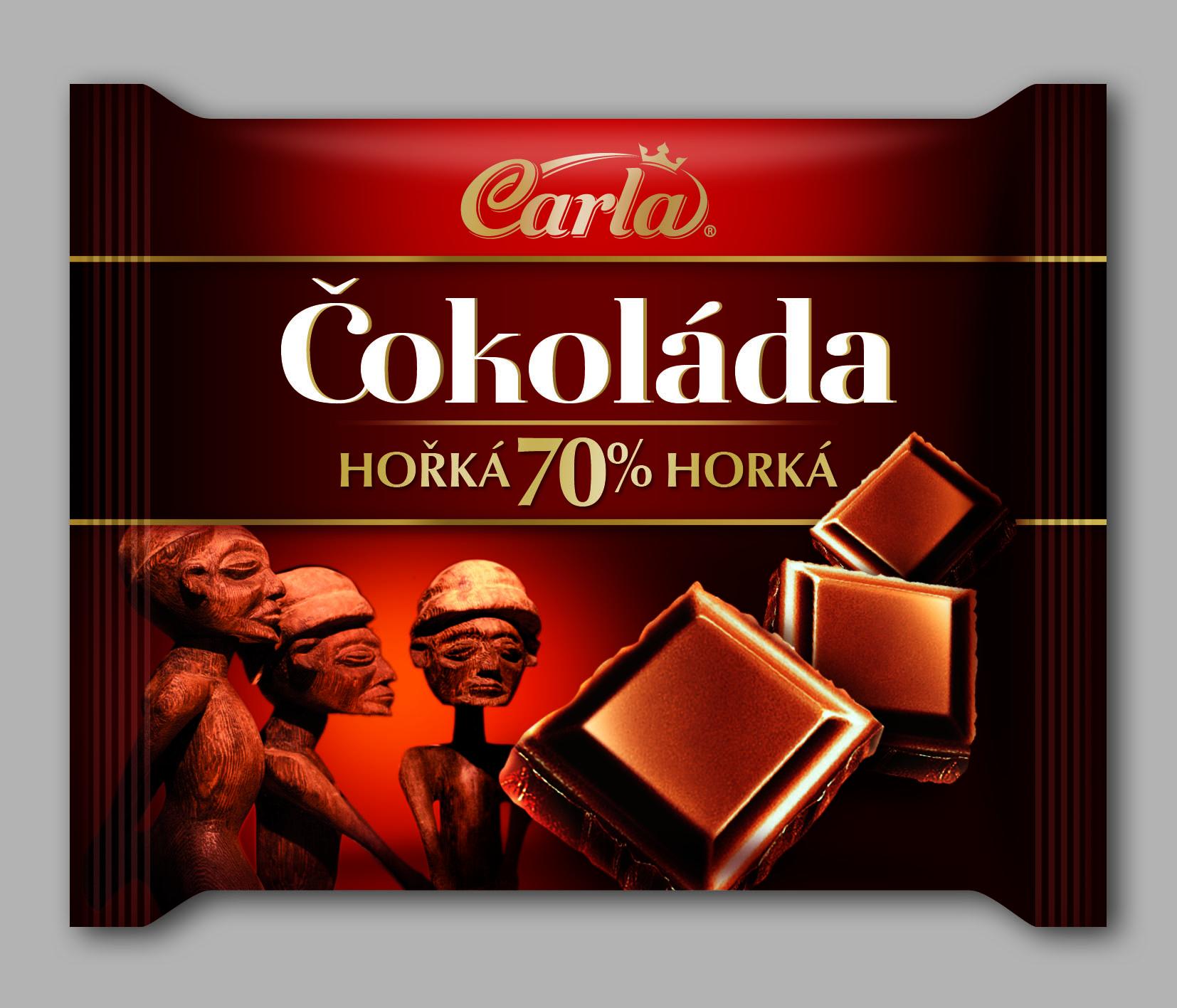 Značka Čokoláda hořká