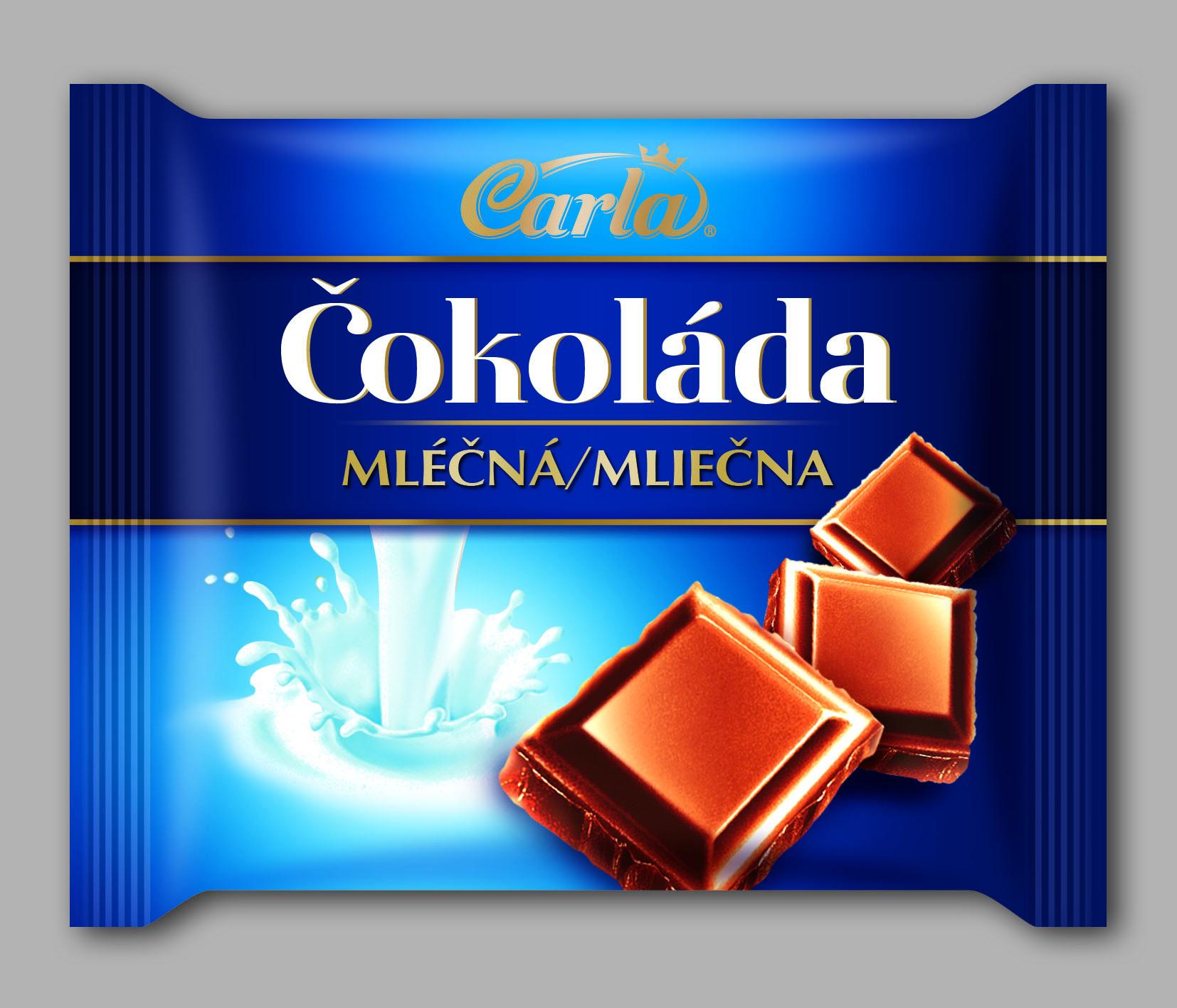 Značka Čokoláda mléčná