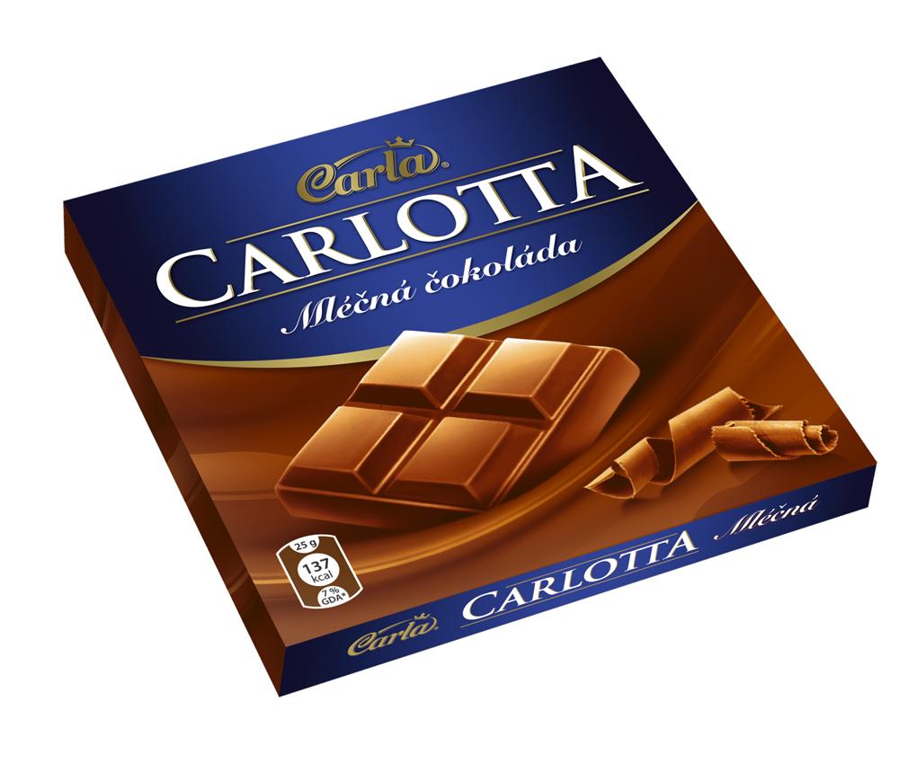 Značka Carlotta mléčná
