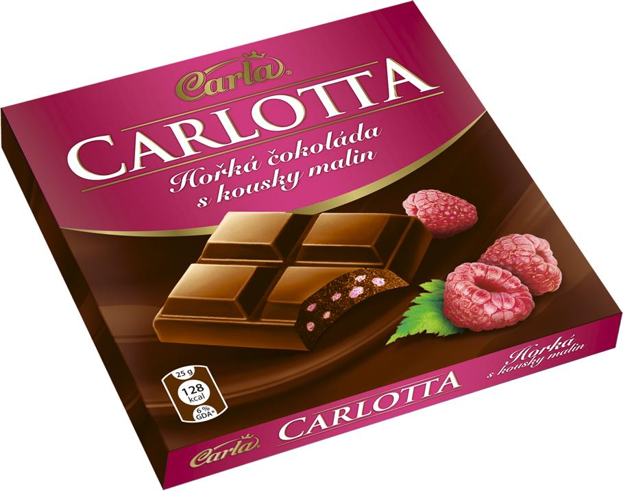 Značka Carlotta malina