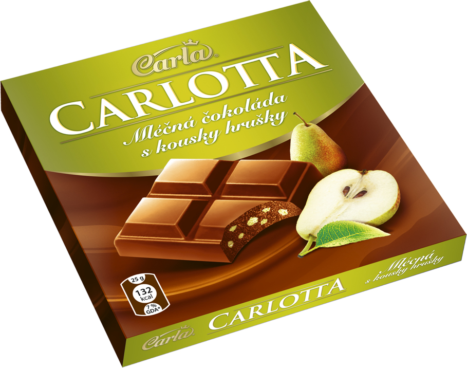 Značka Carlotta hruška