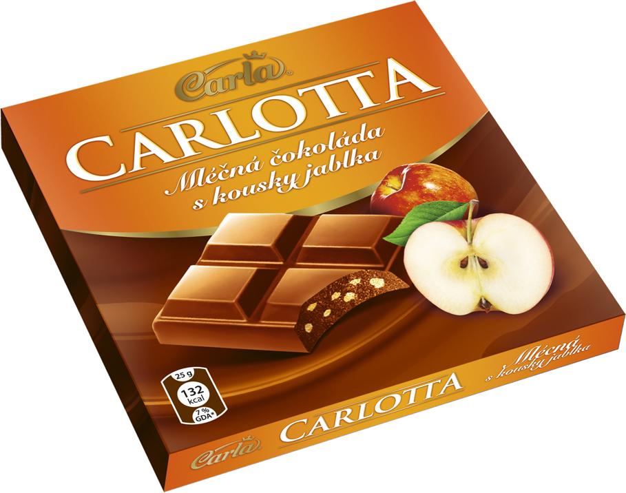 Značka Carlotta jablko